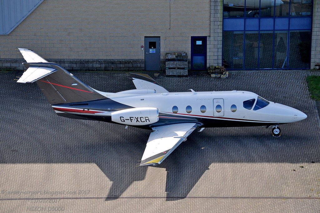 G-FXCR - BE40 - Flairjet