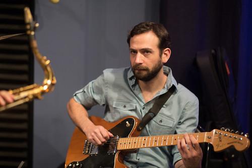 Danny Abel of the Noah Young Band. Photo by Ken Maldonado.