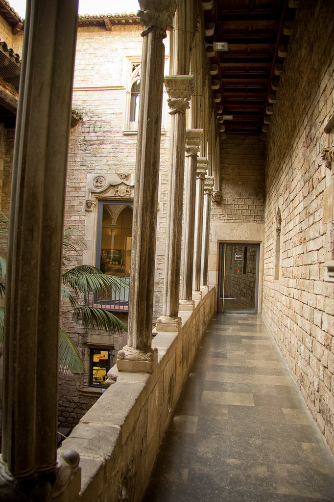 Inside Picasso Museum