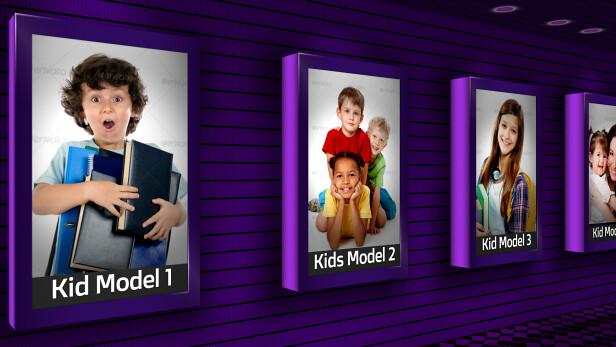 Kids Model