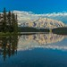 Two Jack Lake by Cole Chase Photography