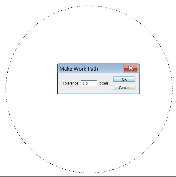 Как написать текст по кругу в Фотошоп