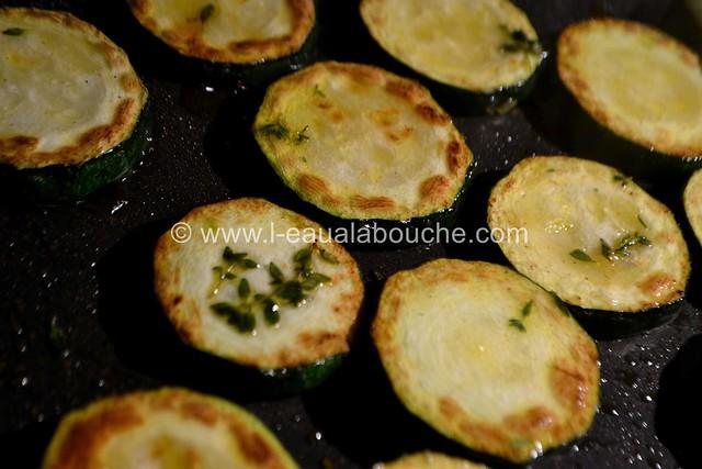 Magret de Canard Courgettes & Pommes de Terre à la Plancha © Ana Luthi Tous droits réservés