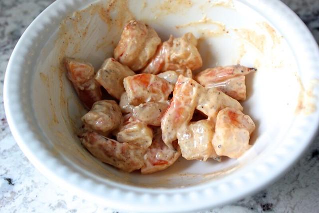 Toasty Berbere Shrimp Rolls
