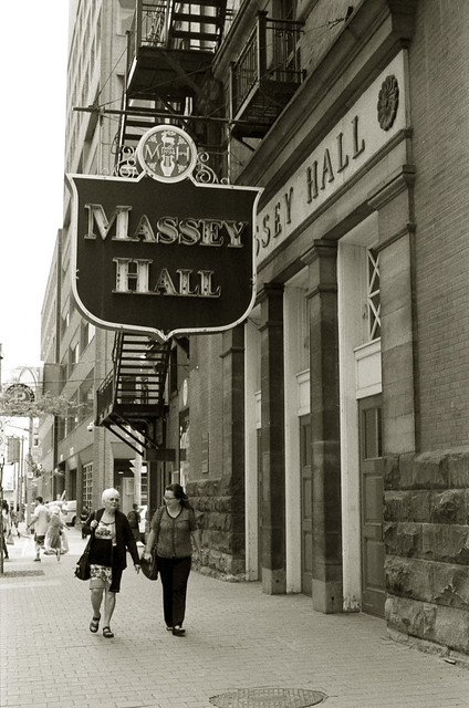 Walking By Massey Hall