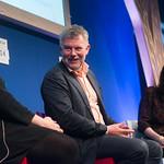 Arne Dahl & Eva Dolan | New stars of Noir Arne Dahl & Eva Dolan speak at the Book Festival © Alan McCredie