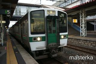 東北本線福島行き