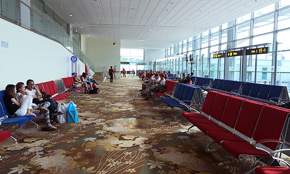 21 Yangon Airport - Boarding Gate Waiting Area
