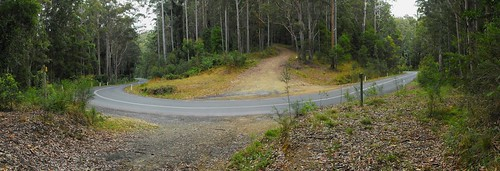 2015-09-06 Sheas Road at Armidale Road hairpin Clouds Creek NSW composite