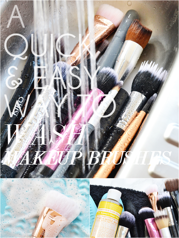 Quick-way-to-wash-makeup-brushes