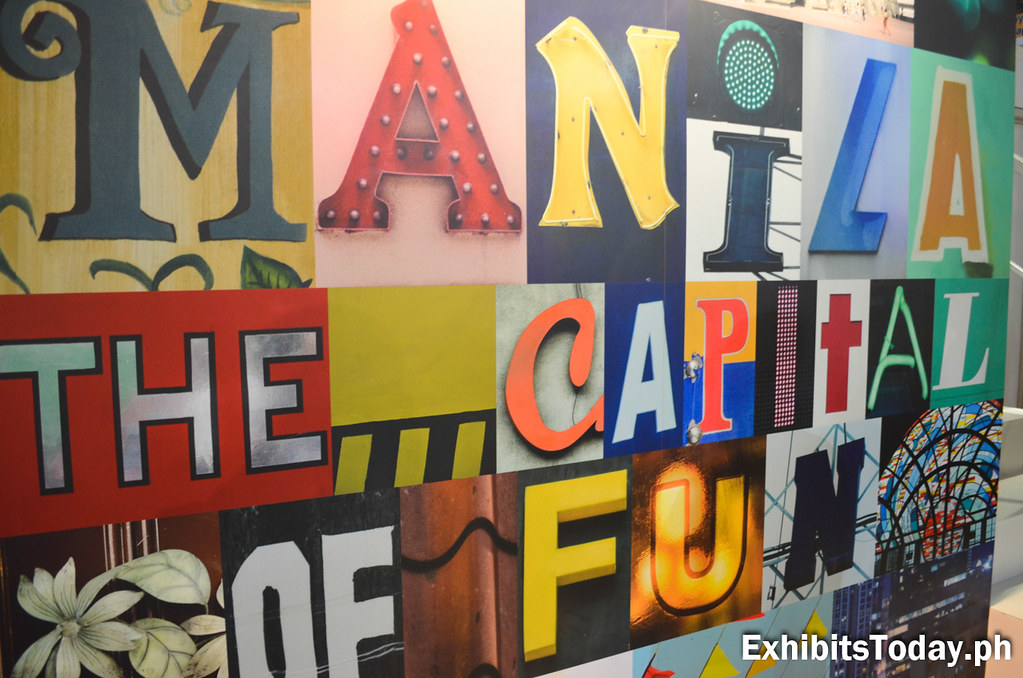 Manila: The Capital of Fun Graphic Design Display