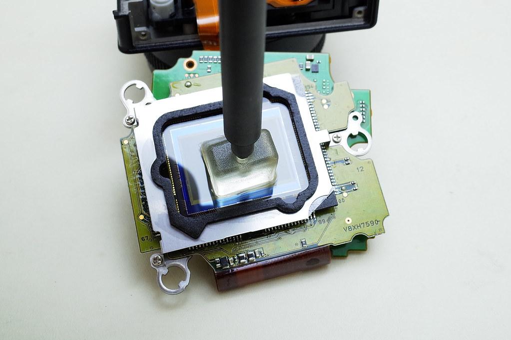 ricoh gxr a12 28mm f2.5 感光元件清洁diy分享