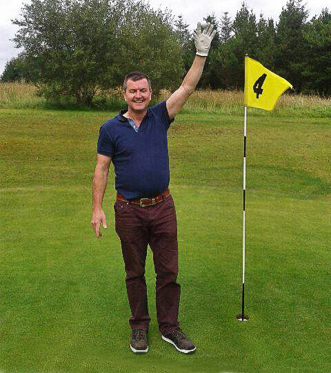Brendan Gaffney - hole in one