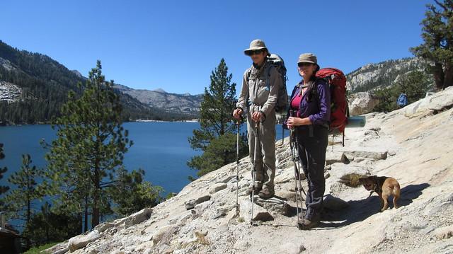 Backpacking to American Lake