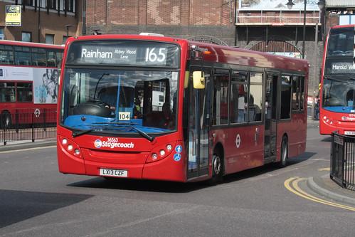 East London 36563 LX13CZF