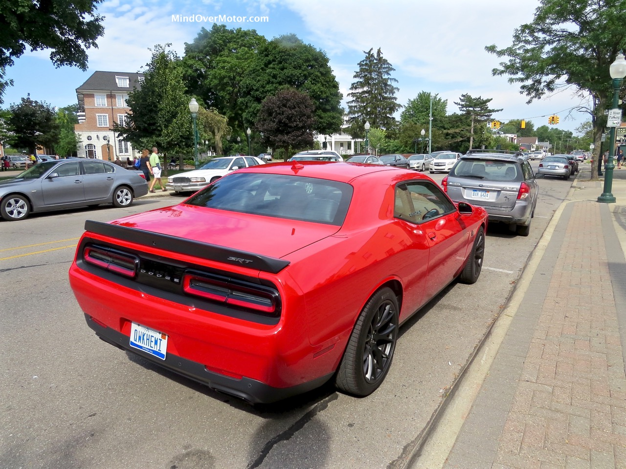 Dodge Challenger Hellcat Rear