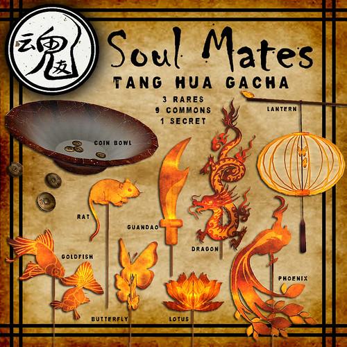 [Soul Mates] Tang Hua Gacha - Commons