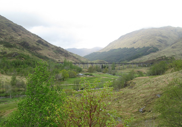 Glenfinnan Viaduct from Viewpoint