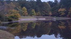 Autumn evening reflections