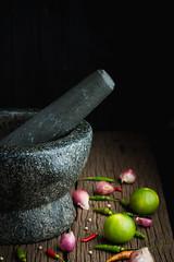 mortar stone