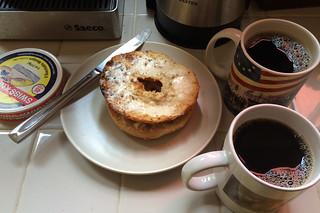 Santa Barbara Roasting Company - Plain bagel