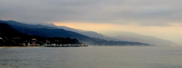 coastal fog this morning