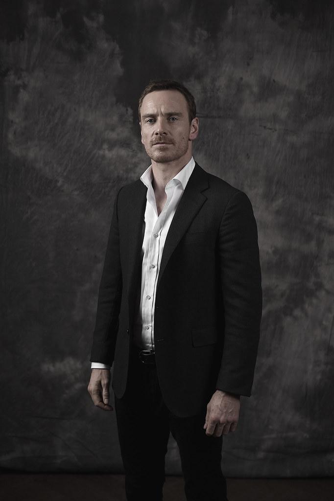Майкл Фассбендер — Фотосессия для «Стив Джобс» на «BFI» 2015 – 6