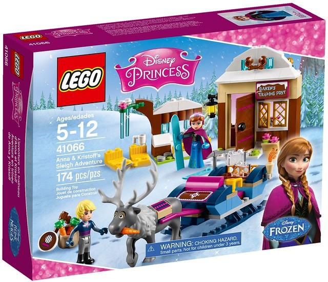 LEGO Disney Frozen 41066 - Anna & Kristoff's Sleigh Adventure