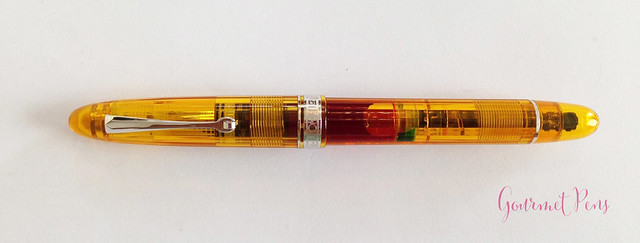 Review Omas Ogiva Cocktail Fountain Pen - Stub @Omas_Official (4)