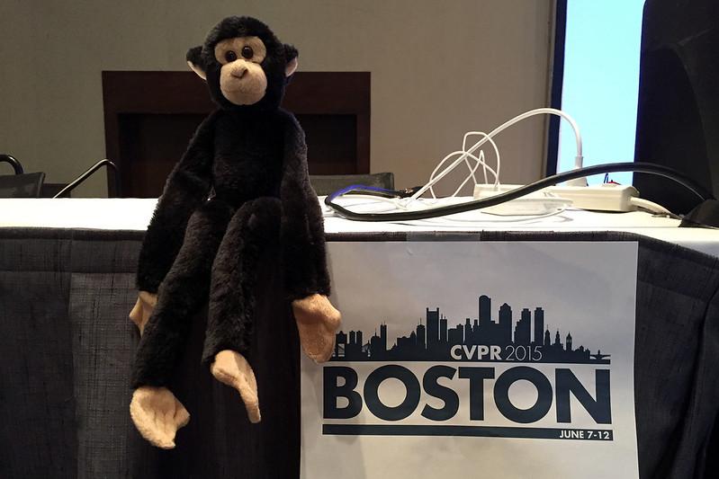 Monkey at CVPR 2015