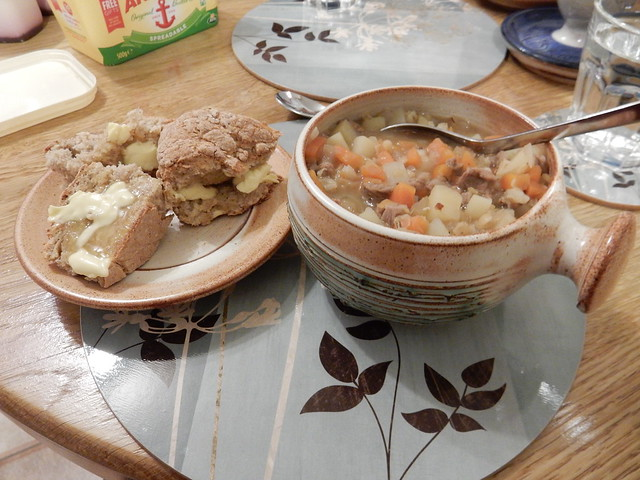 lamb and Guinness soup and soda bread (8)