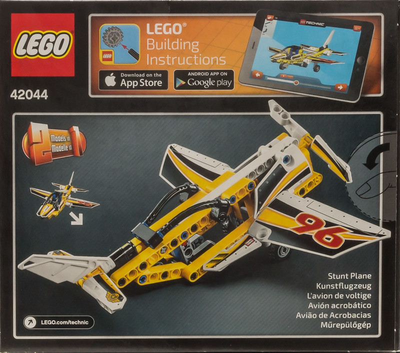 Review 42044 Display Team Jet Lego Technic And Model Team