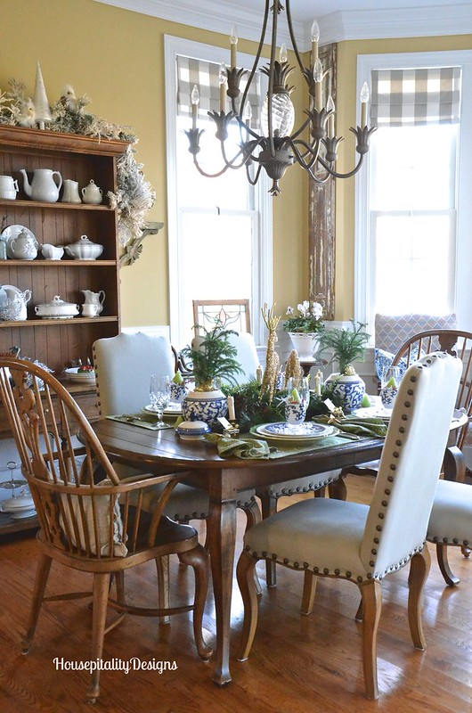 Christmas 2015 Dining Room - Housepitality Designs