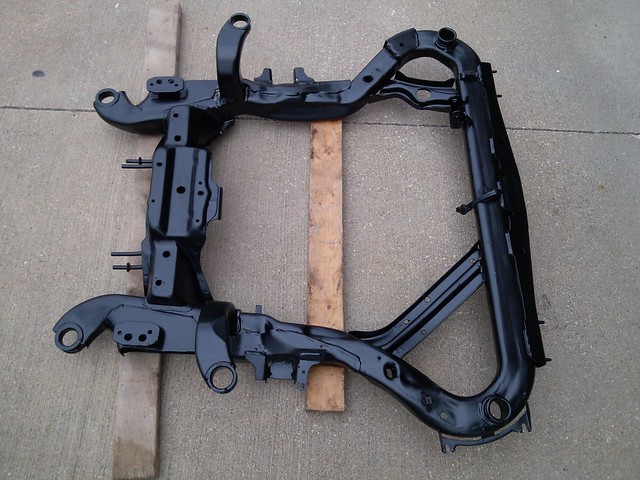 Subframe after paint