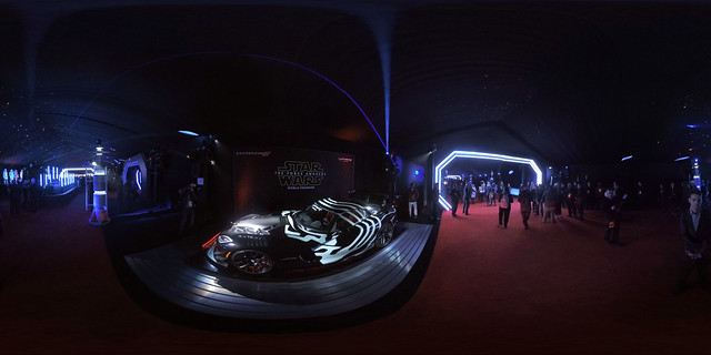 Star Wars, The Force Awakens, world premiere in 360