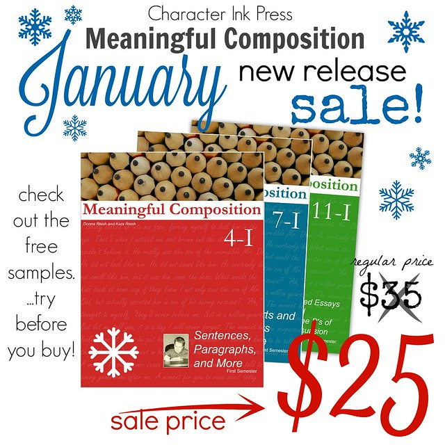 Meaningful Composition January SALE!
