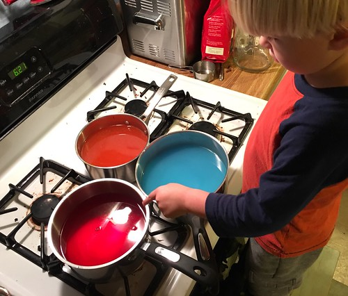 Starting the Dye