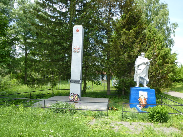 The monument to fallen soldiers in WWII