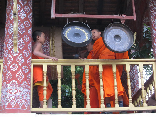 Luang Prabang: le temple Vat  Sene Soukharam