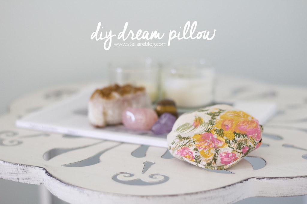 diy dream pillow