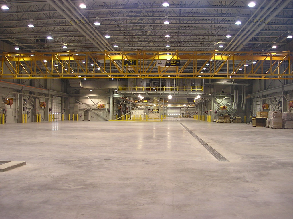 Vehicle maintenance facility fort wainwright army post for Designer interiors soldotna