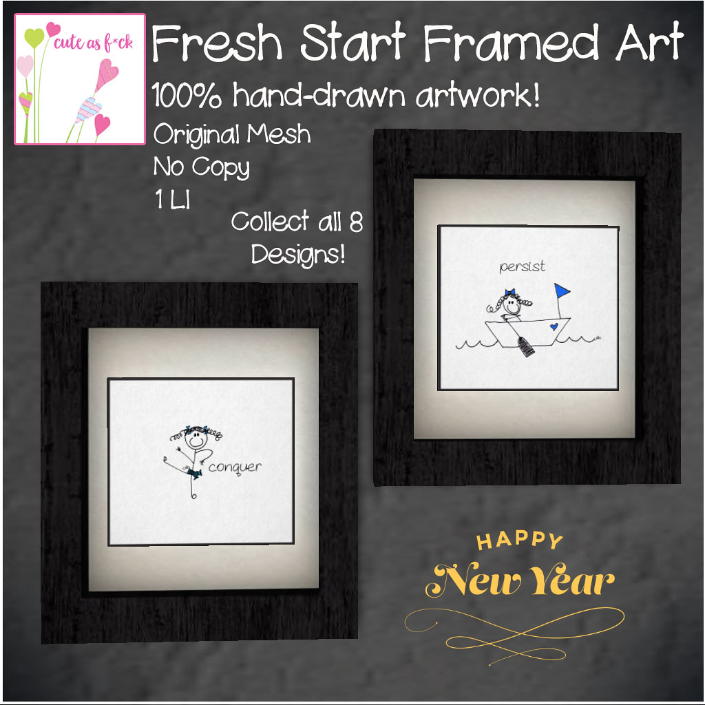 New Year Home Decor FREE Give Away from ::cute as  f*ck:: - SecondLifeHub.com