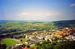 Trenčín, view from the castle (2)