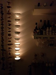 Christmas present to myself ... #glowbowls by @dianafayt ... Thanks, I love'em!
