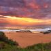 Beach Sunset by -yury-