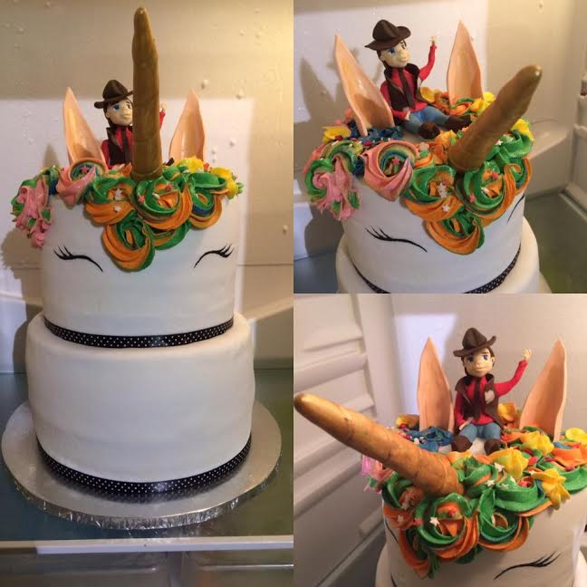 Unicorns & Cowboys from Lior Ezerzer of Baked By Memory Lane Creations