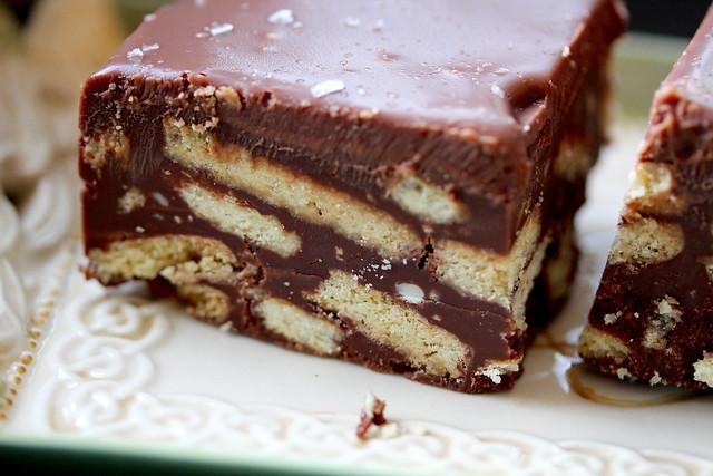 Irish Chocolate Biscuit Cake - 25