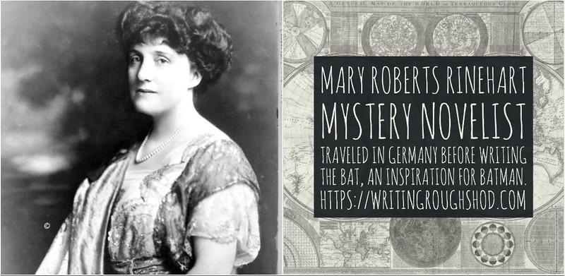 MARY ROBERTS RINEHART #100travelHERS