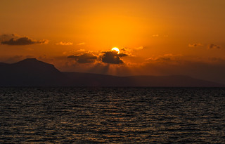 Sunset in Northern Cyprus