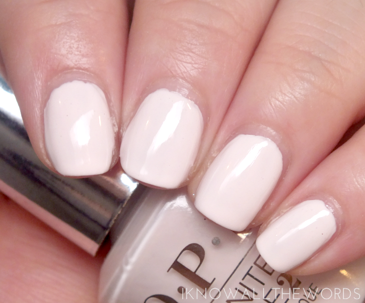 OPI Infinite Shine Soft Shades 2015 Beyond the Pale Pink